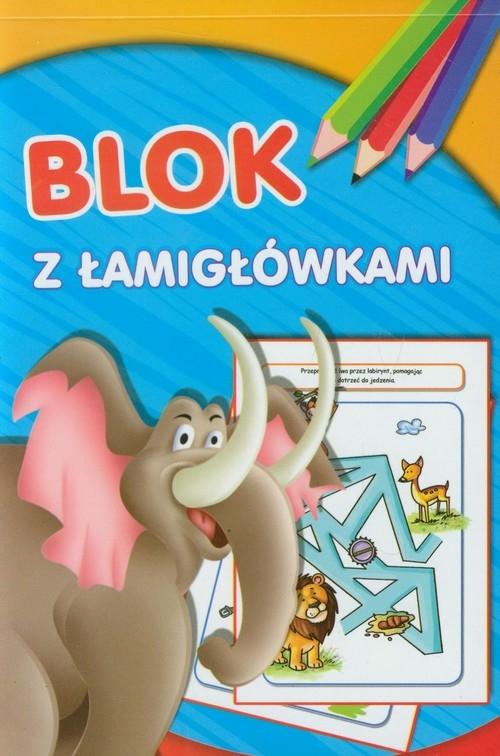Blok z łamigłówkami Słoń