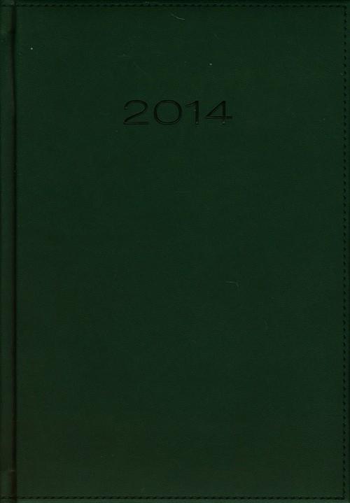 Kalendarz 2014 A5 21D Zielony dzienny