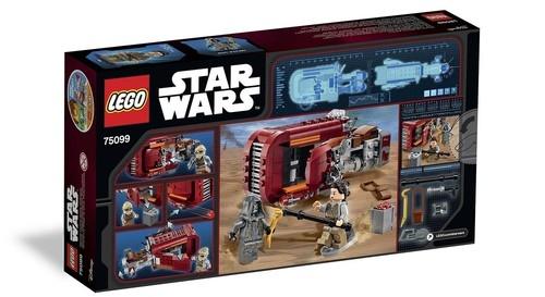 Lego Star Wars Śmigacz Rey (75099)