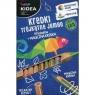 Kredki trójkątne Jumbo Eko Kidea, 11 kolorów + magiczna kredka (DRF-43033)