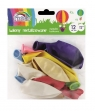Balony 12'' kolory metaliczne mix 12 sztuk (170-2455)