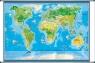 Świat mapa ścienna dla dzieci