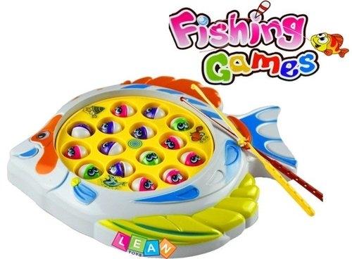 Wesoła gra łowienie rybek Fishing Games z muzyką!