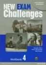 New Exam Challenges 4 Workbook z płytą CD gimnazjum Maris Amanda, Sikorzyńska Anna, Fricker Rod