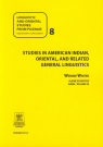 Linguistic and oriental studies from Poznań 8 Studies in American Indian oriental and related general linguistics