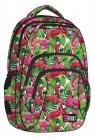 Plecak 4-komorowy  Flamingo Ping & Green (BP25)