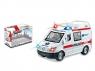 Ambulans Bigtoys na baterie ze światłem i dźwiękiem (BA9611)