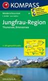 Junfrau Region Thunersee Brienzersee 1:40000