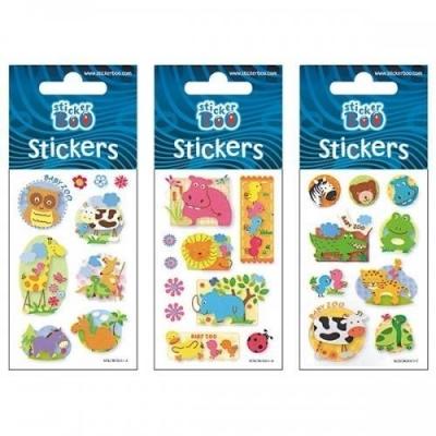 Naklejki Sticker BOO silver - Zwierzęta (382533)