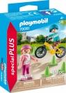 Playmobil Special Plus: Dzieci na rolkach i rowerze (70061)Wiek: 4+
