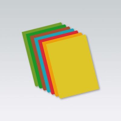 Papier kolorowy Protos A4 160g szary 50 ark
