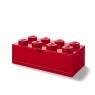 Szufladka na biurko klocek LEGO® Brick 8 - Czerwona (40211730)