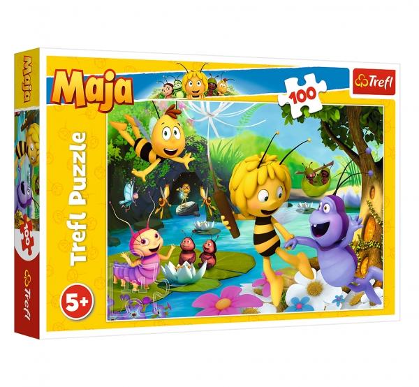 Puzzle 100: Pszczółka Maja i przyjaciele (16361)
