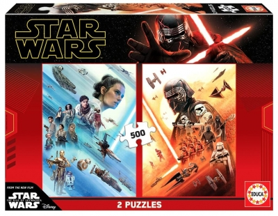 Puzzle 2x500 Star Wars: Skywalker. Odrodzenie G3