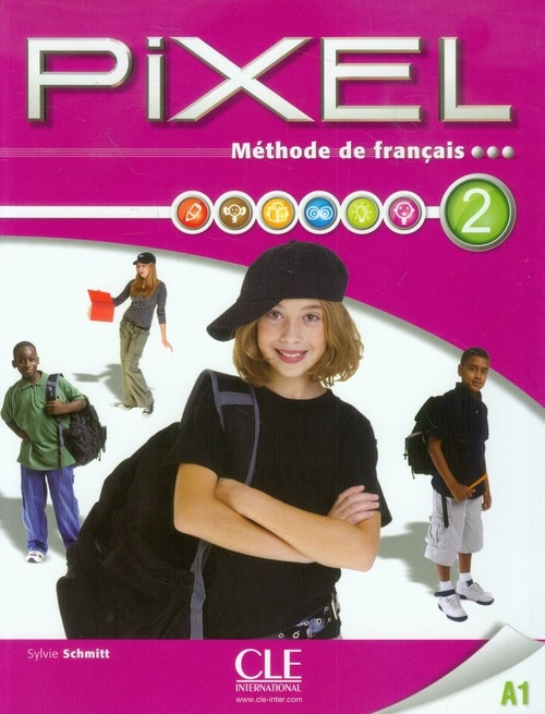 Pixel 2 A1 Podręcznik + DVD Schmitt Sylvie