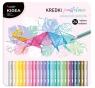 Kredki trójkątne Kidea, 24 kolorów (DRF-079612)