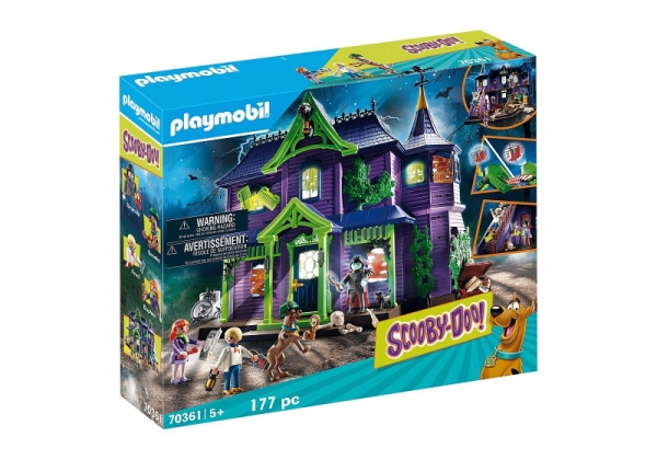 Zestaw figurek Scooby-Doo Przygoda w domu z duchami (70361)