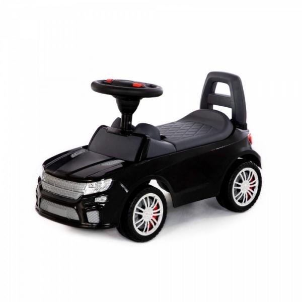Jeździk samochód z sygnałem. Czarny (84613)