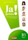Ja genau! Kurs- und Übungsbuch mit Lösungen und Audio-CD  B1: Band 1 Böschel Claudia, Dusemund-Brackhahn Carmen