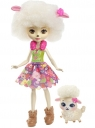 Enchantimals: Lalka Lorna Lamb + zwierzątko (FNH22/FNH25)