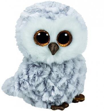 Maskotka Beanie Boos Owlette - Biała Sowa (37201)