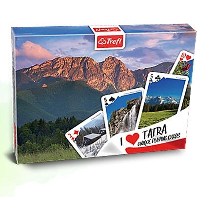 Tatry: Wiosna - zestaw brydżowy: Kocham Polskę - 2X55 listków (08361)