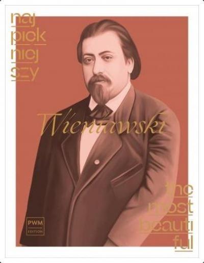 Najpiekniejszy Wieniawski na skrzypce i fortepian praca zbiorowa