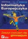 Informatyka Europejczyka Zeszyt ćwiczeń Gimnazjum Pańczyk Jolanta