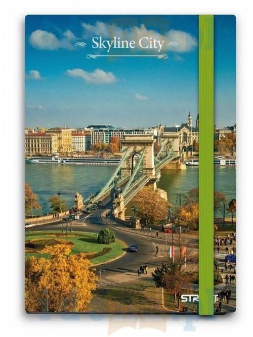 Notes Skyline City A6 6 sztuk