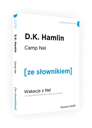 Księga dżungli / Wakacje z Nel wersja angielska ze słownikiem Kipling Ruduyard, Hamlin D.K.