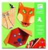 Origami z naklejkami Zwierzaki (DJ08761)