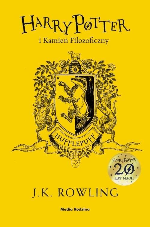 Harry Potter i kamień filozoficzny. Tom 1. Hufflepuff Rowling Joanne K.