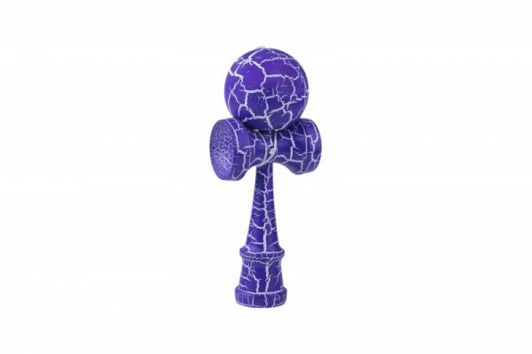 Zabawka zręcznościowa Kendama fioletowo biały (1004003FB)