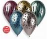 Balon gumowy Godan zwierzęta z Afryki 13 cal, 5 sztuk metalizowany 5 szt mix 330 mm 13cal (GBS120/ZZA)