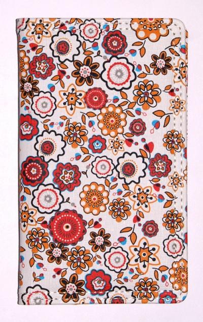 Kalendarz 2017 B6 Tygodniowy Kwiaty MIX