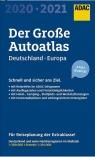 AutoAtlas ADAC. Deutschland, Europa 2020/2021 praca zbiorowa