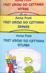 Trzy kroki do czytania 7-8 lat Sylaba Wyraz Zdanie