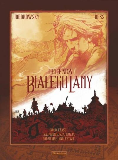 Legenda Białego Lamy Tom 1-3 Jodorowsky Alejandro