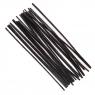 Druciki kreatywne 30 cm czarne, 25 szt. (KSDR-014)