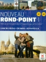Nouveau Rond-Point 1 A1 + A2 Podręcznik + CD