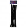 Druciki kreatywne, 25 szt. x 30cm - czarne (KSDR-014)