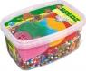 Koraliki do prasowanek podstawowy MIX kolorów 7000 sztuk z 5 szblonami do układania