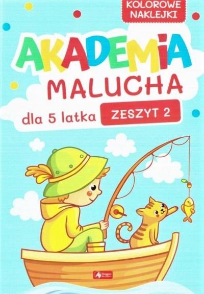 Akademia Malucha dla 5-latka zeszyt 2 praca zbiorowa