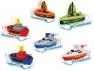Zabawna łódka 7 cm, 6 rodzajów