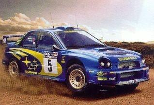 Model plastikowy Subaru Impreza WRC 2001 (80761)