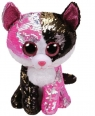 Maskotka Beanie Boos Flippables: Malibu - cekinowy kot 15 cm (36261)