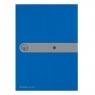 Teczka A4 PP na dokumenty Easy Orga - niebieska (11206703)