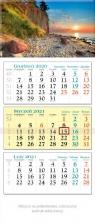 Kalendarz 2021 trójdzielny KT 02 KLIF