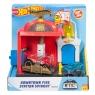 Hot Wheels City (FRH28) Downtown Fire Station Spinout