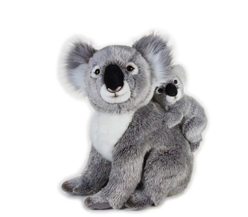 Koala z dzieckiem